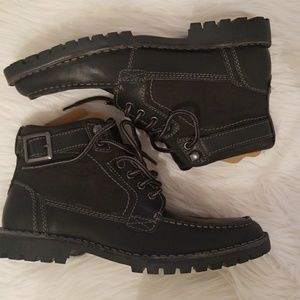 1ffe0297e13 Steve Madden Numero Black Leet Boots NWT